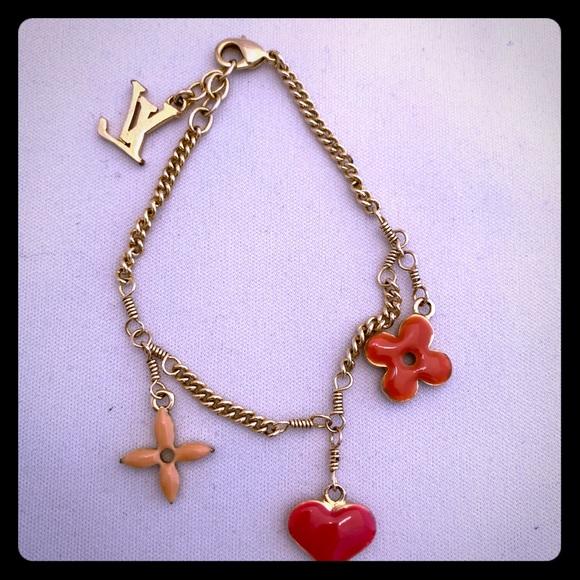 Louis Vuitton Jewelry - Louis Vuitton Charm Bracelet!
